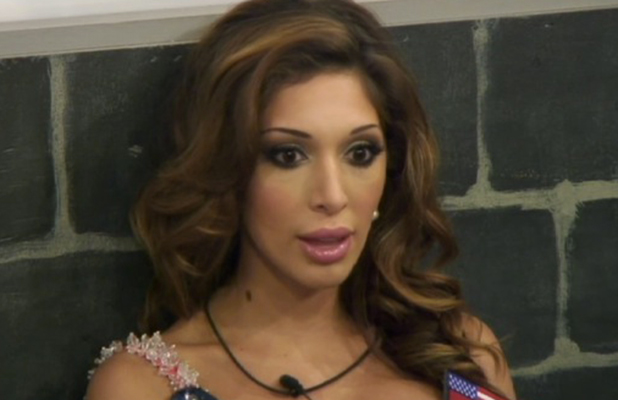 Celebrity Big Brother 2015 Farrah talks to Natasha