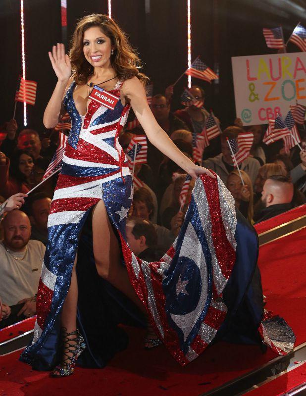 Farrah Abraham Celebrity Big Brother launch show, 27 August 2015