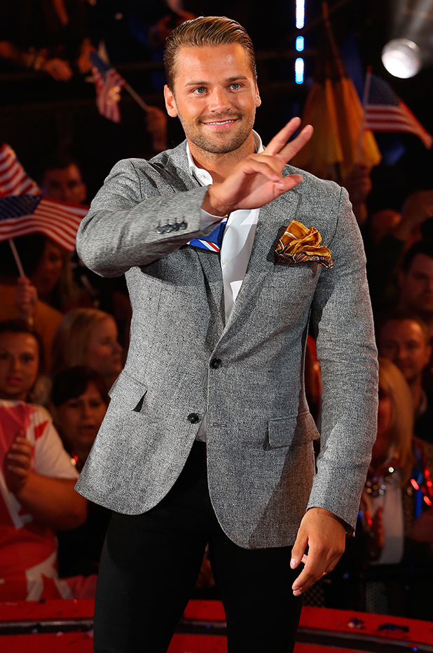 Celebrities enter the Celebrity Big Brother 2015 house James Hill 27 August 2015