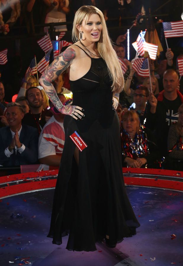 Jenna Jameson Celebrity Big Brother launch show, 27 August 2015