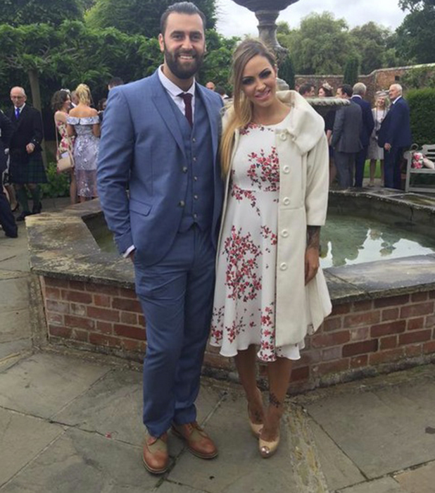 Jodie Marsh and James Placido 26 August 2015