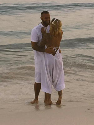 Jodie Marsh's wedding to James Placido August 2015