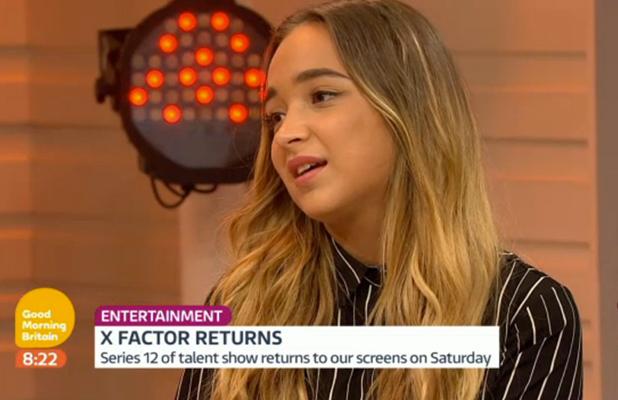 Lauren Platt appearing on GMB on ITV 26 August 2015