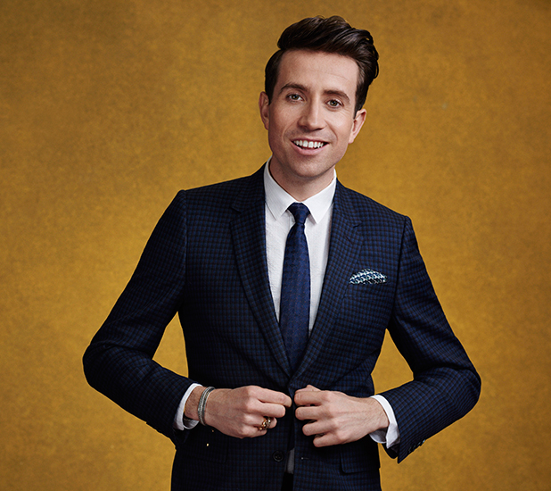Nick Grimshaw's official X Factor picture 2015