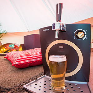 Virgin Media Supercharged Yurt at V Festival 2015 Beer maker