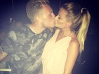 TOWIE's Georgia Kousoulou and Tommy Mallet pucker up in Barcelona
