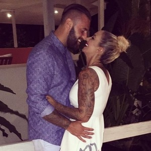 Jodie Marsh shares photos from her honeymoon with James Placido, 1st September 2015