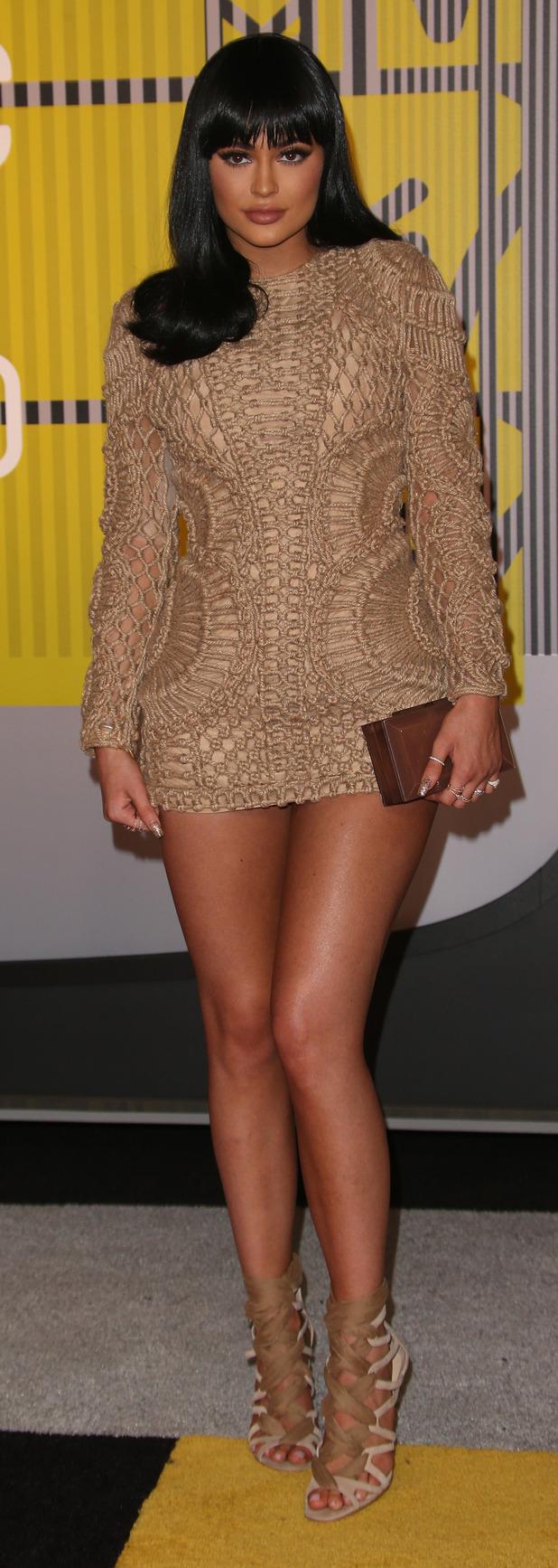 Kylie Jenner seen arriving at the MTV VMAs 1st September 2015