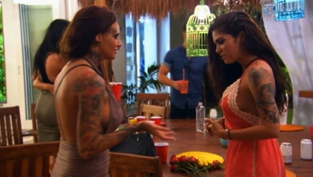 Cami Li and Jemma Lucy clash on Ex On The Beach 1 September