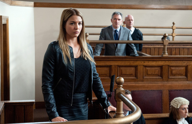 Emmerdale, Carly and Bob in court, Mon 7 Sep
