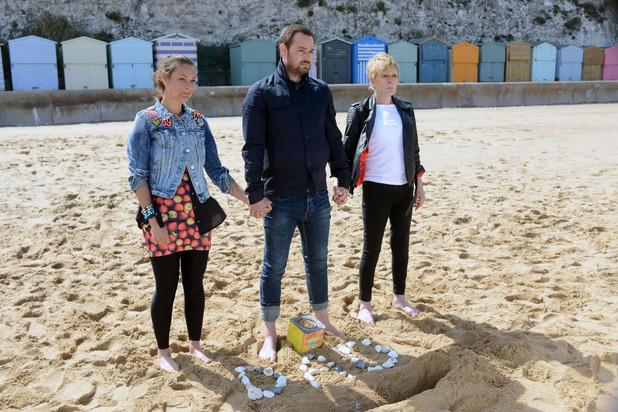 EastEnders, Tina, Mick, Shirley bury Stan's ashes, Fri 4 Sep