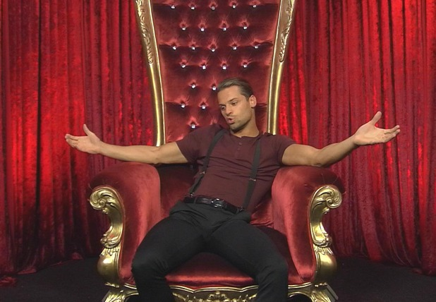 CBB: James speaks in the Diary Room after having a heart-to-heart with Farrah - 4 September 2015.