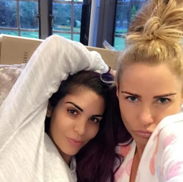 Katie Price and Cami Li 31 August