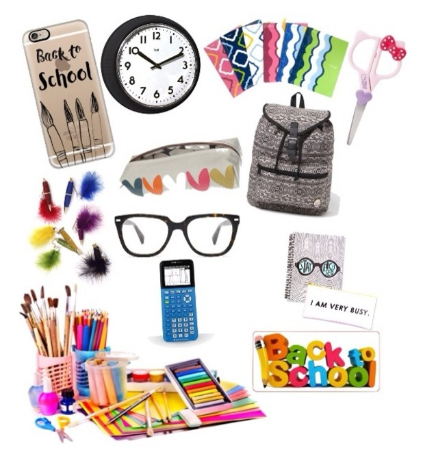 Brooke Vincent's blog- back to school style collage