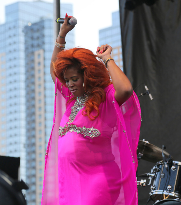 Kelis performs onstage at Afropunk Fest at Commodore Barry Park on August 22, 2015 in Brooklyn, New York.
