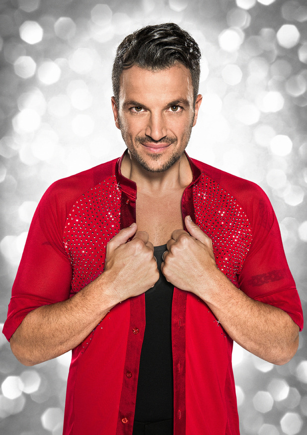 Peter Andre, Strictly Come Dancing Official Photos 1 September