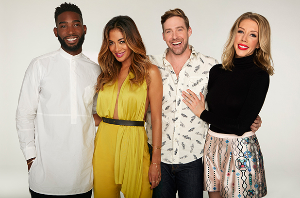 Bring The Noise, Sky 1 series: Nicole, Ricky, Tinie and Katherine