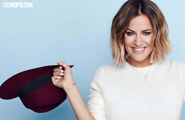 Caroline Flack: full interview appears in the October issue of Cosmopolitan, on sale 2nd September