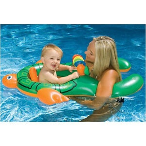 Mum and baby swim float - 3 Sep 2015
