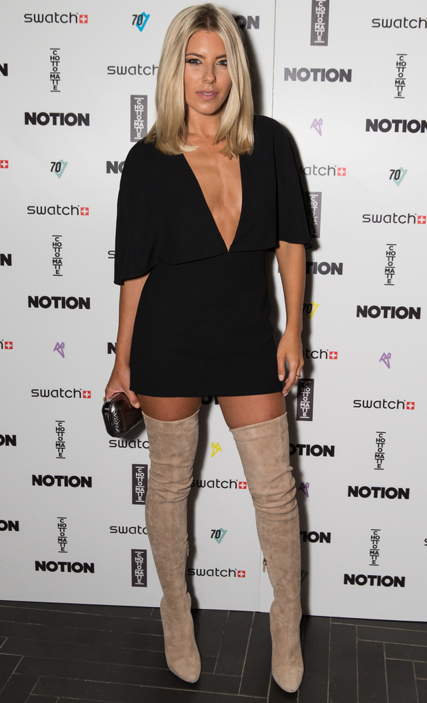 Mollie King, The Notion Magazine X Swatch Issue 70 Launch Party held at the Chotto Matte - Arrivals, 9 September 2015