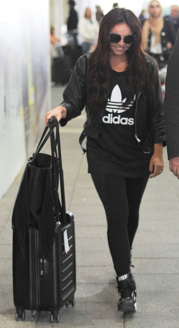Little Mix's Jesy Nelson at Gatwick Airport, 7th September 2015