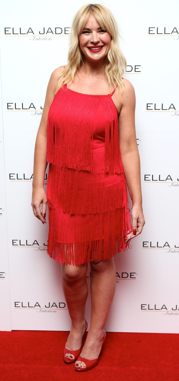 Kierston Wareing at Ella Jade Interiors Press Launch 01/09/15