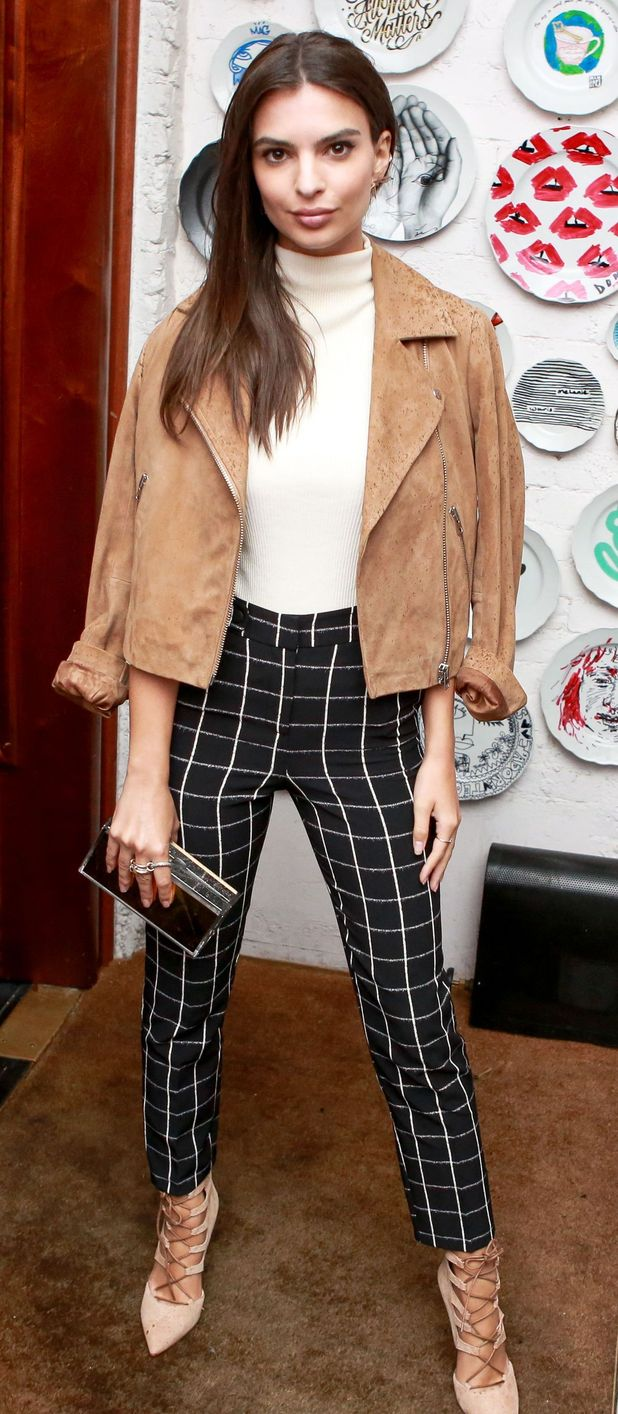 Model Emily Ratakjowski at the Ciara For Topshop launch party, 11th September 2015