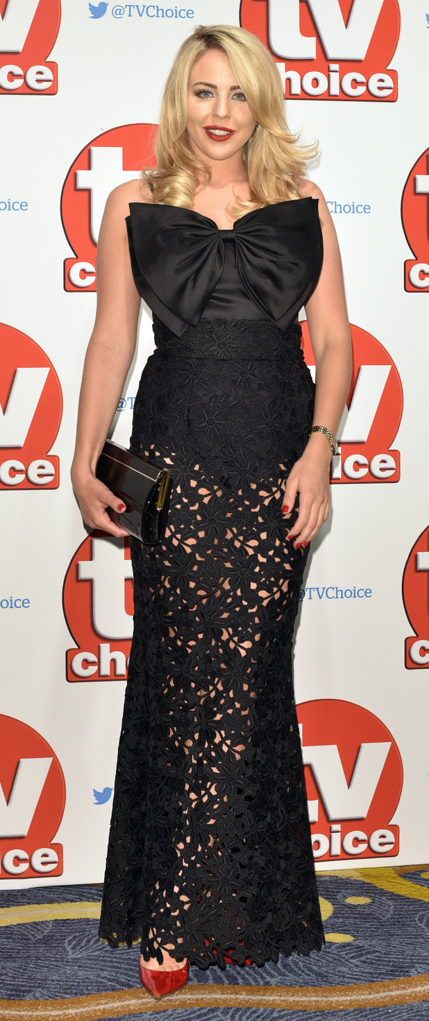 TOWIE's Lydia Rose Bright at the TV Choice Awards, Hilton Hotel Park Lane London, 8th September 2015