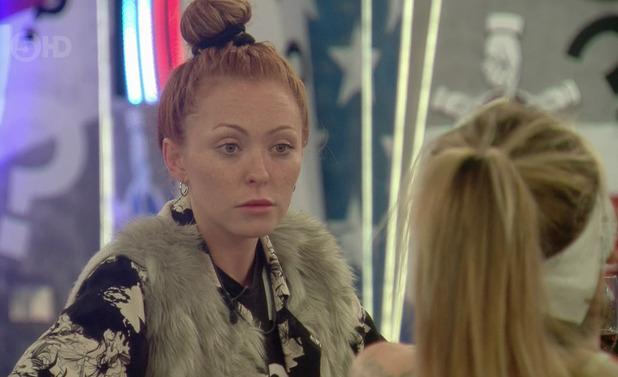 Natasha Hamilton on 'Celebrity Big Brother'. Broadcast on Channel 5 HD. 10 September 2015.