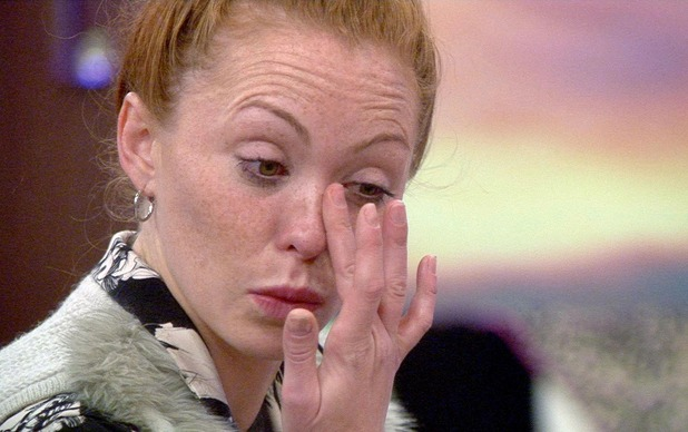 CBB: Natasha Hamilton in tears after admitting she is stressed. 10 September 2015.