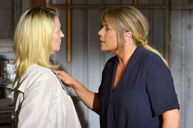 EastEnders, Sharon confronts Kathy, Mon 14 Sep
