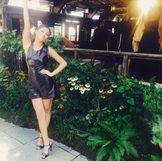 Selena Gomez at NYFW, 11.9.15