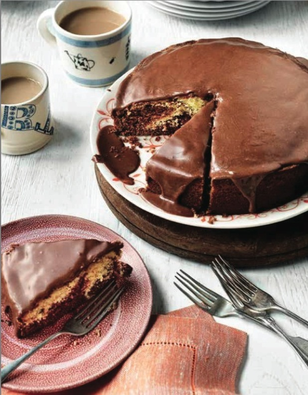 chocolate orange cake by fiona o'donnell for the clandestine cake club a year of cake cookbook