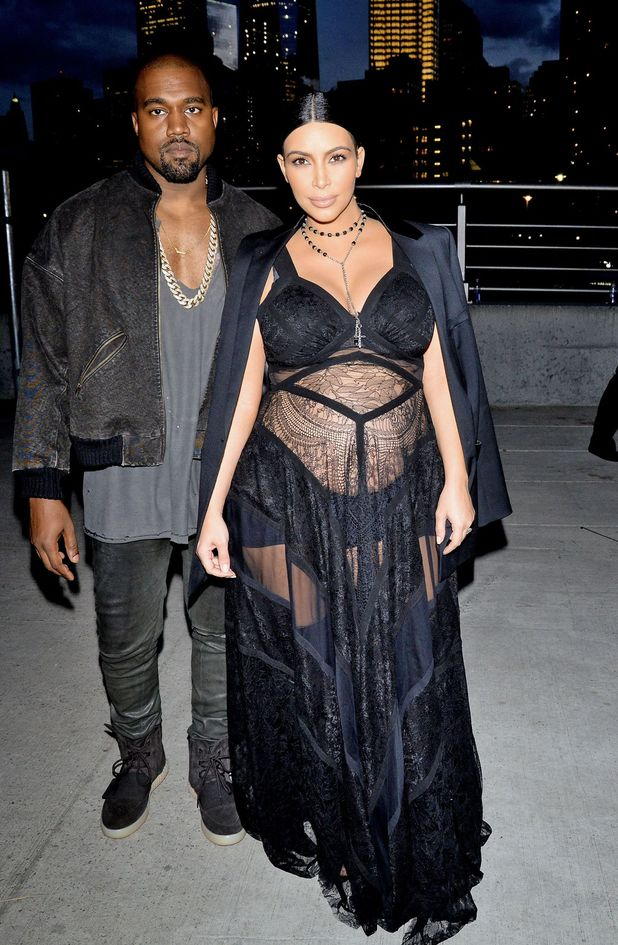 Kim Kardashian and Kanye West at NYFW, Givenchy after party
