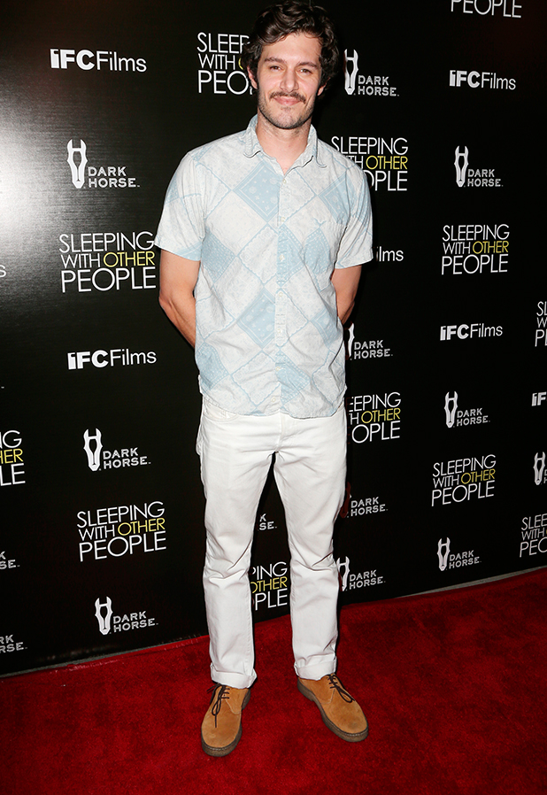 """Premiere Of IFC Films' """"Sleeping With Other People"""" Adam Brody 9 Sep 2015"""