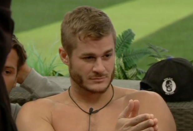 Celebrity Big Brother: UK vs USA' TV show, Elstree Studios, Hertfordshire, Britain - 05 Sep 2015 Austin says he'll shave his head for Gail