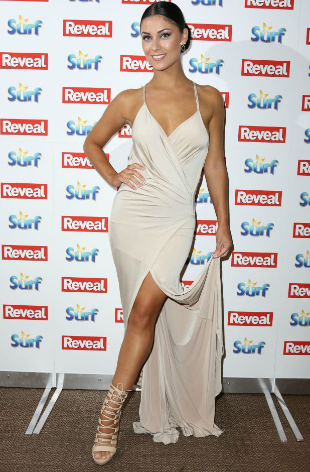 The Reveal Online Fashion Awards held at Distrkt Cally Jane Beech and Luis Morrison