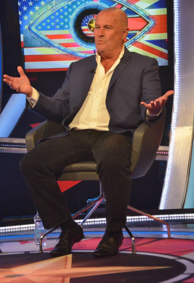 CBB: Chris Ellison is second housemate evicted 8 September 2015