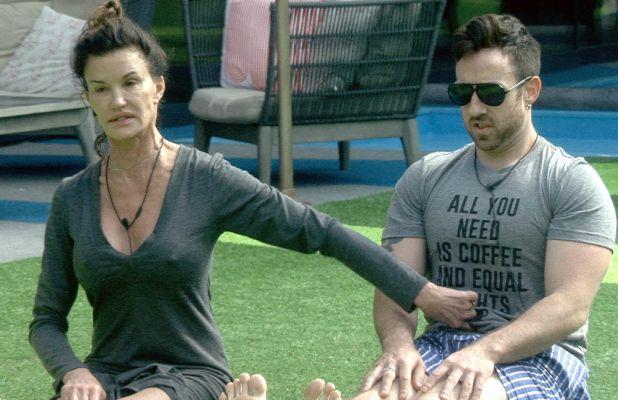 CBB: Day 12 Grabs Janice and Stevi doing yoga