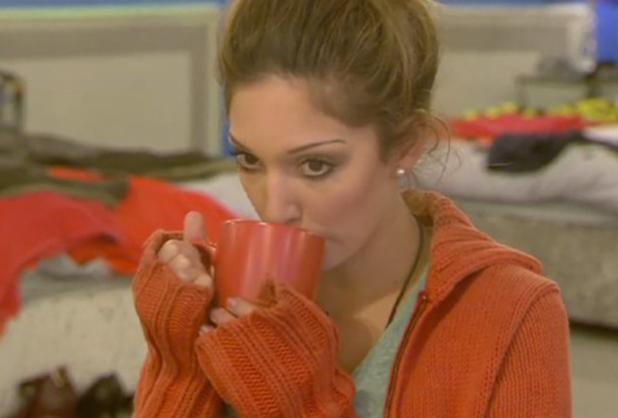 Celebrity Big Brother: UK vs USA' TV show, Elstree Studios, Hertfordshire, Britain - 05 Sep 2015 Farrah talks about Janice