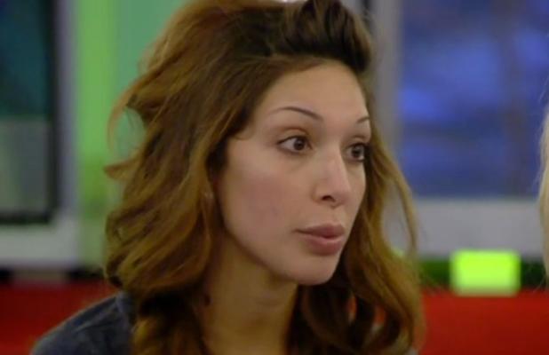 CBB: Farrah says sorry to Sherrie