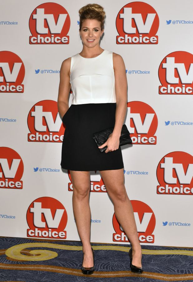 The 2015 TV Choice Awards held at the Hilton Park Lane. Gemma Atkinson