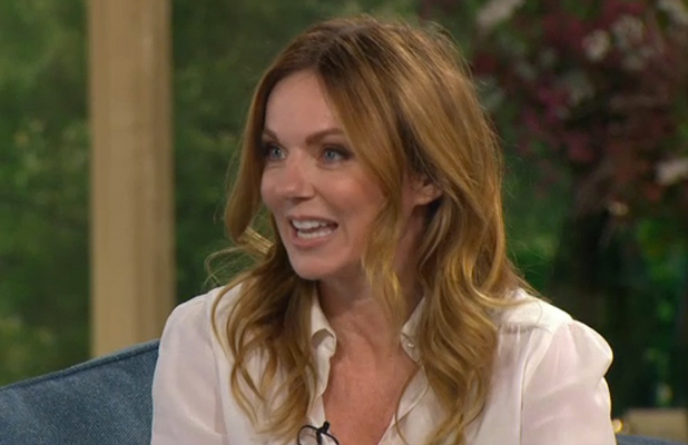 Geri Halliwell on ITV's This Morning