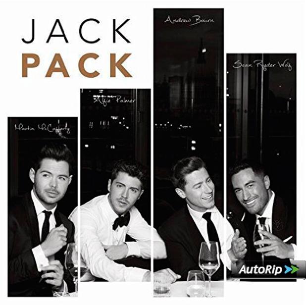 Jack Pack album cover, released 30 October 2015