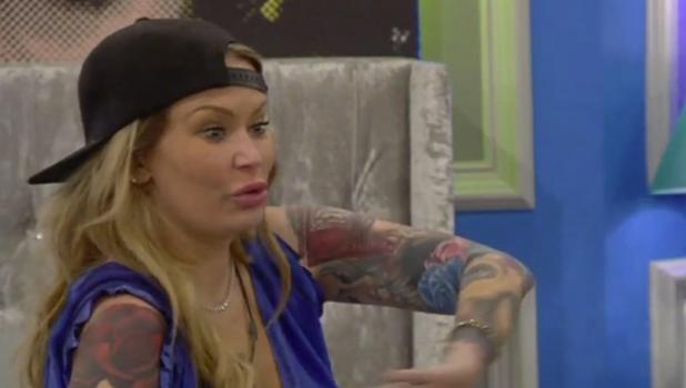 CBB: Natasha is angry at Team UK after Jenna / Farrah / Scoop row 6 September 2015