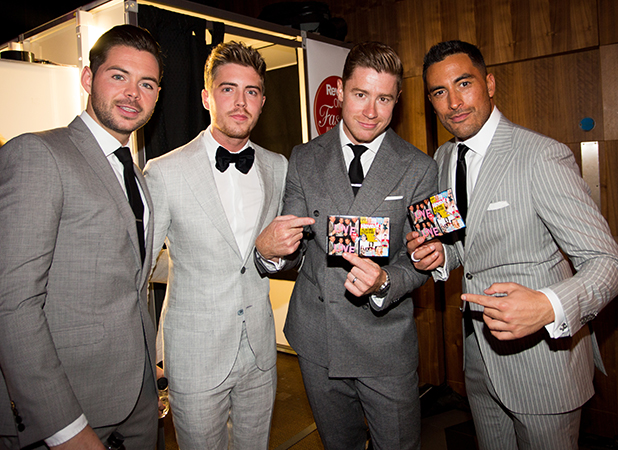 Reveal Online Fashion Awards, London, Britain - 07 Sep 2015 Jack Pack