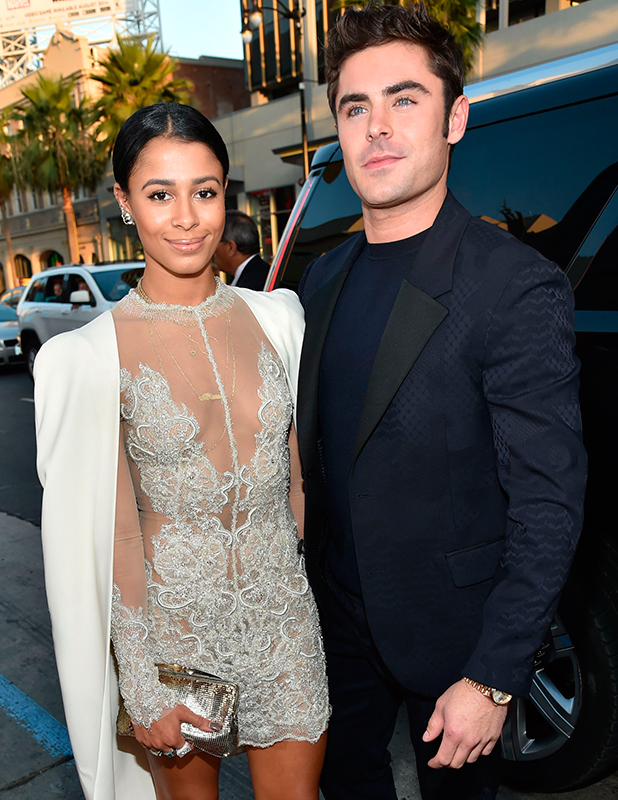 'We Are Your Friends' film premiere, Los Angeles, America - 20 Aug 2015 Sami Miro and Zac Efron
