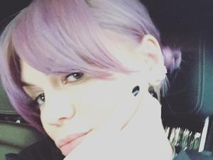 Jessie J dyes hair lavender, 12 September 2015