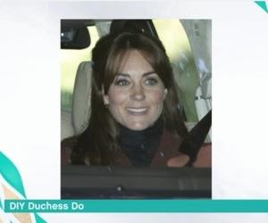 Kate Middleton gets a fringe, This Morning 15 September