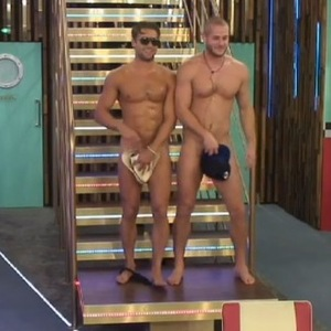 CBB: James and Austin, aka Jaustin, get naked to celebrate Sherrie's birthday. 17 September 2015.